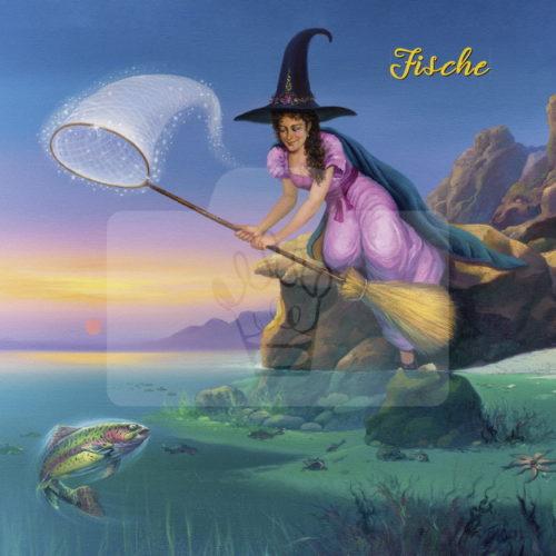 Motiv Fische mit Text  |  Bst.-Nr.: 006-014