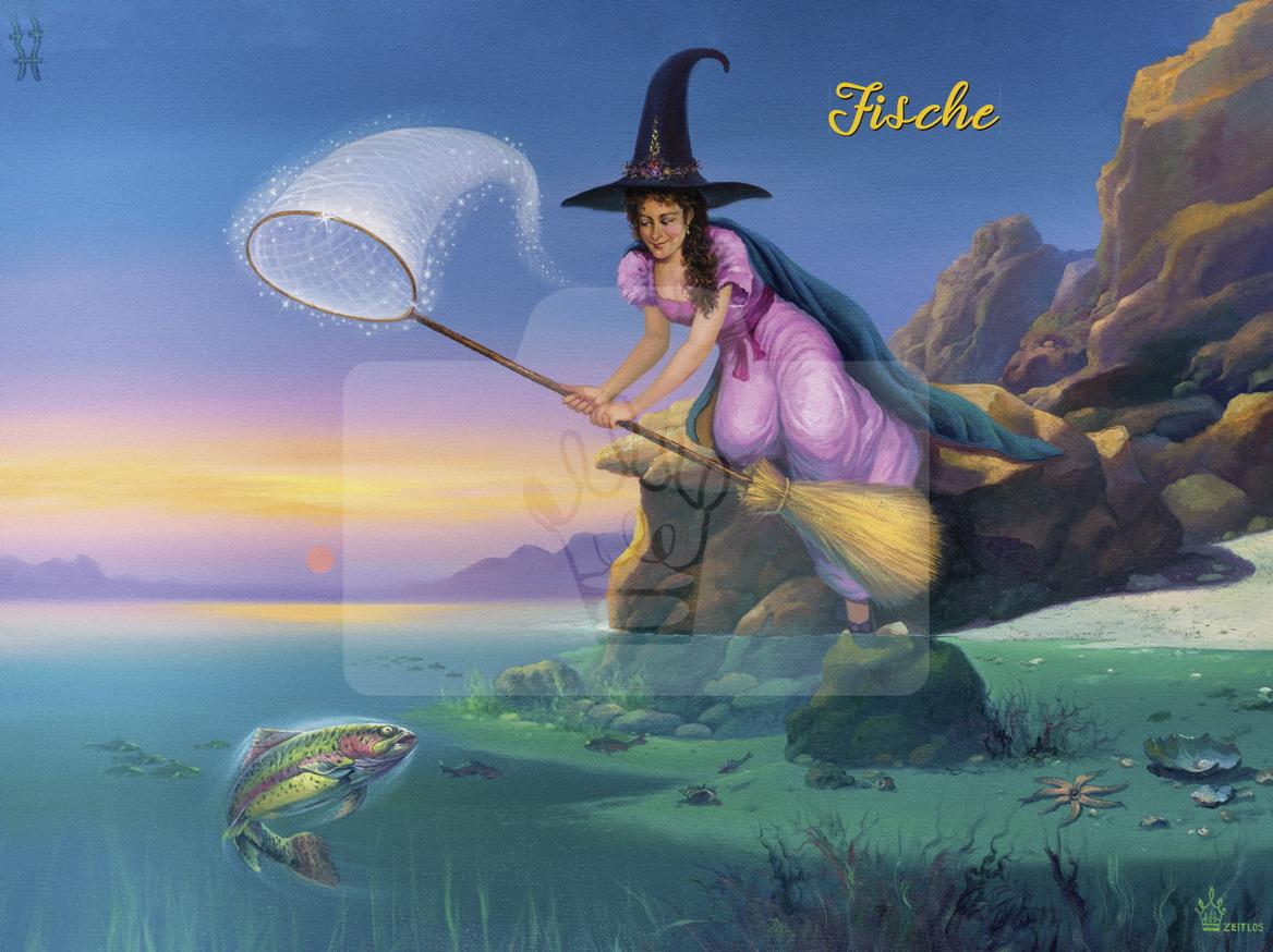 Motiv Fische mit Text     Bst.-Nr.: 006-014