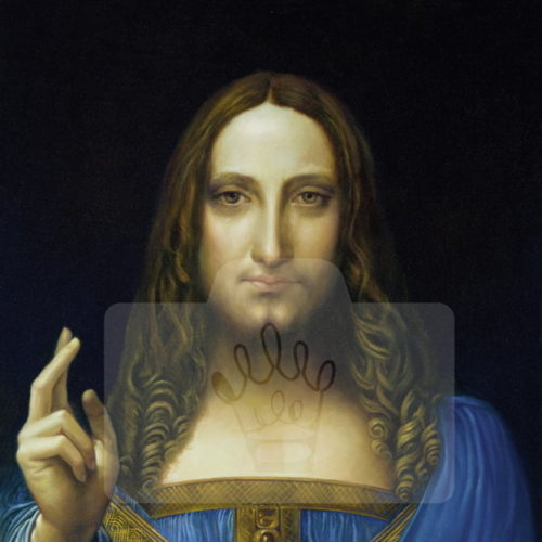 Motiv Salvator Mundi  |  Bst.-Nr.: 007-011