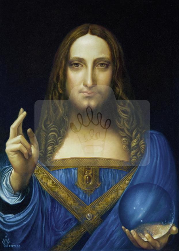 Motiv Salvator Mundi     Bst.-Nr.: 007-011