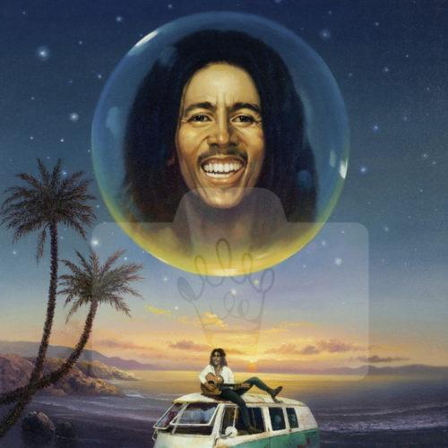 Motiv Bob Marley  |  Bst.-Nr.: 007-012