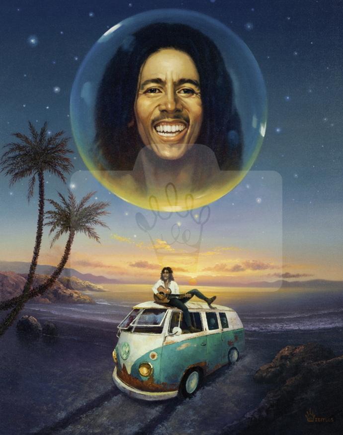 Motiv Bob Marley     Bst.-Nr.: 007-012