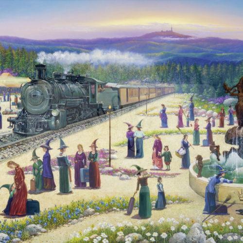 Motiv Harzer Teufelsbahn  |  Bst.-Nr.: 007-015