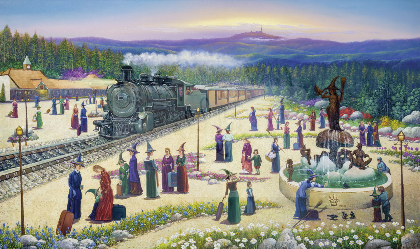 Motiv Harzer Teufelsbahn     Bst.-Nr.: 007-015