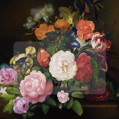 Motiv Blumengesteck  |  Bst.-Nr.: 007-003