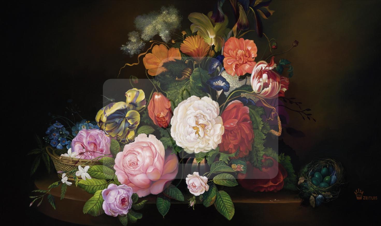 Motiv Blumengesteck     Bst.-Nr.: 007-003